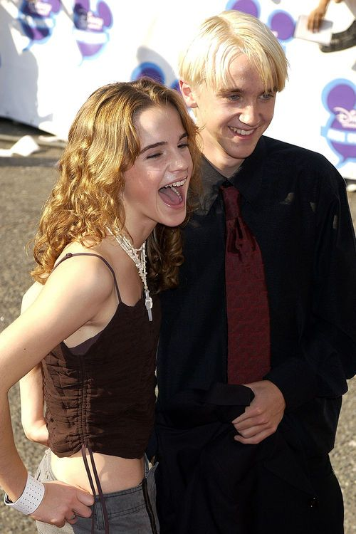 Emma Watson Tom Felton Fruher Ineinander Verliebt Harry Potter Actors Draco Harry Potter Harry Potter Draco Malfoy
