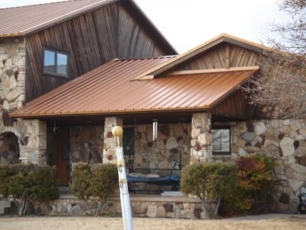 Best Copper Penny Metal Roof And Steel On Pinterest 400 x 300