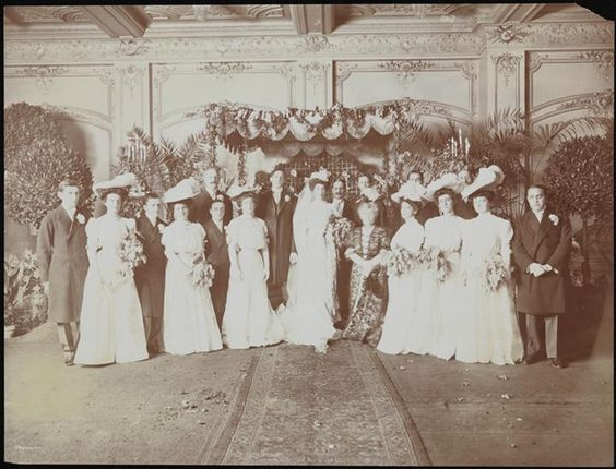 Museum of the City of New York - Weddings, Sternberger. 1915