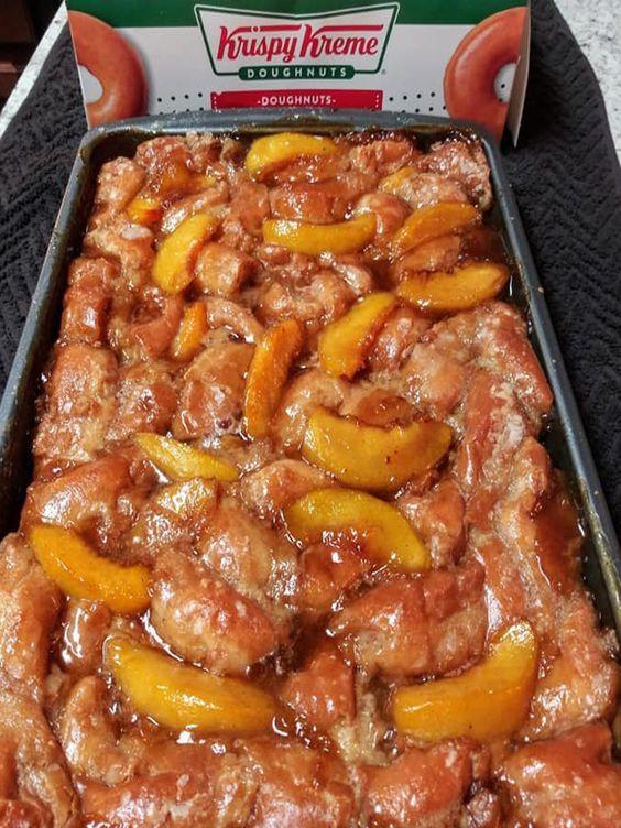 Krispy Kreme Peach Cobbler Recipe