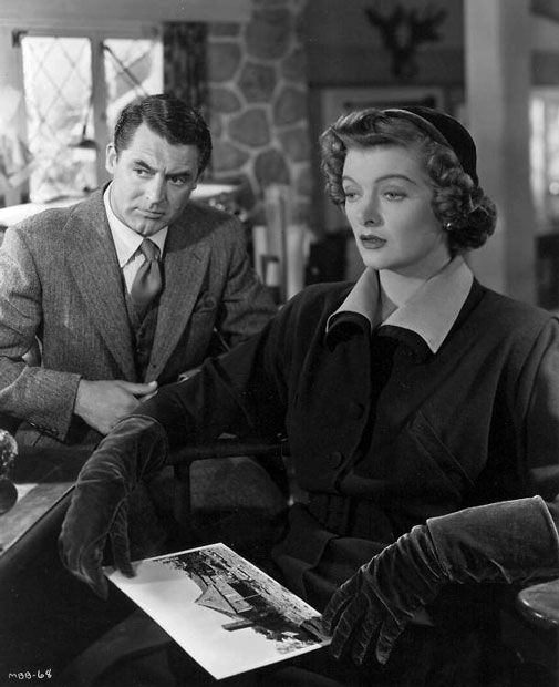 Cary Grant and Myrna Loy -- Mr. Blandings Builds His Dream House