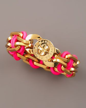 Fluoro Turnlock Bracelet by MARC by Marc Jacobs at Bergdorf Goodman.