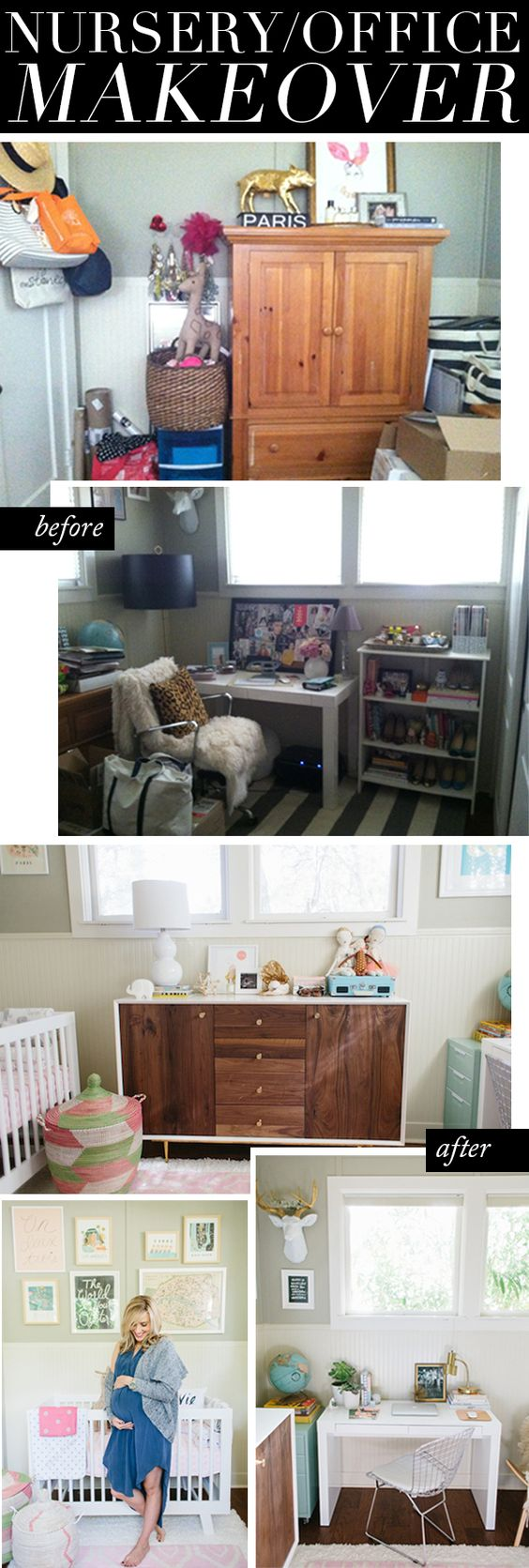Taylor Sterling's Nursery/Office Makeover
