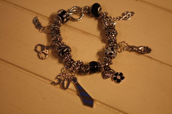 The GREYsessed Pandora Style Bracelet by GREYsessed on Etsy. $65.00, via Etsy.