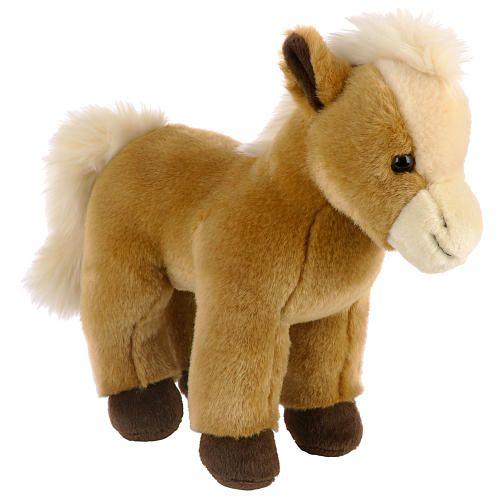 Stuffed Horse Toy : Toys r us plush realistic farm inch stuffed horse