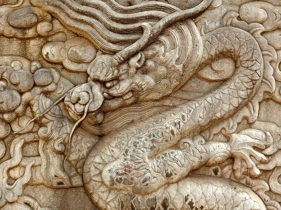 Danita Delimont/Gallo Images/Getty Images - Architectural details on dragon sculpture, Forbidden City, Beijing, China