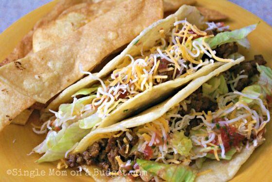 I LOVE me some tacos...