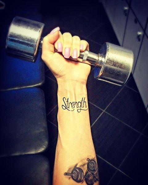 Pin for Later: 29 Fitness-Inspired Tattoos That Show Off Your Love For Working Out