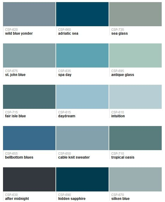 Cape Cod Color Schemes