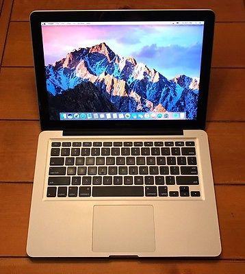 """Apple MacBook Pro 13"""" 4GB RAM 500 GB HD  https://t.co/0huqrQGGZg https://t.co/P9hXCrmQ3X"""