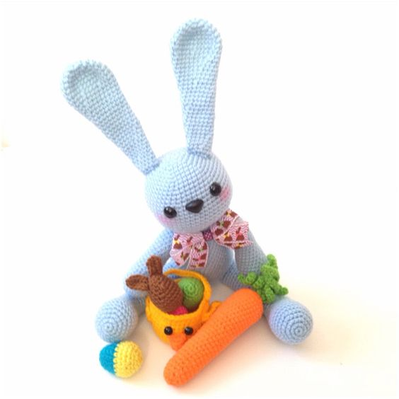 Amigurumi Bunny Egg : Pinterest The world s catalog of ideas