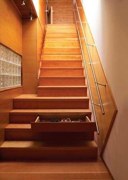 Staircase Storage Idea