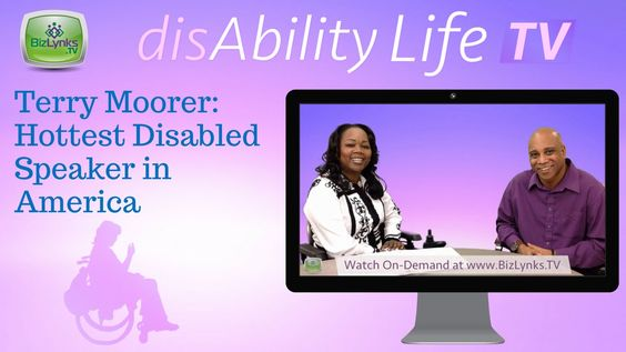 """http://www.BizLynks.TV How Terry Moorer became the hottest disabled speaker in America on """"disAbilityLifeTV""""  Living with Cerebral Palsy in th emustic industy, Terry Moorer became the hottest disabled speaker in America. He has been in the music industry for over 25 years adn has worked with Mc Lyte, Queen Latifah, MTV and others. Find out more at www.terrymoorer.com"""