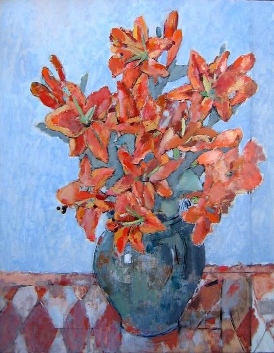 painting by Anghel Neagu