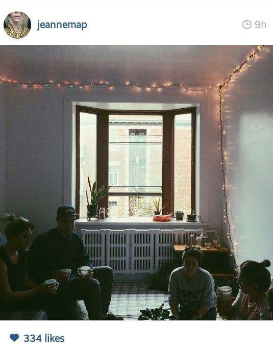 Saw on insta.  Love the lights.