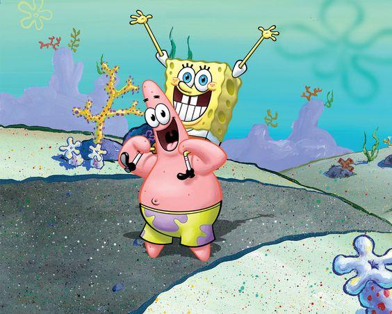 Spongebob Squarepants Wallpaper Spongebob Patrick Spongebob Drawings Spongebob Patrick Spongebob