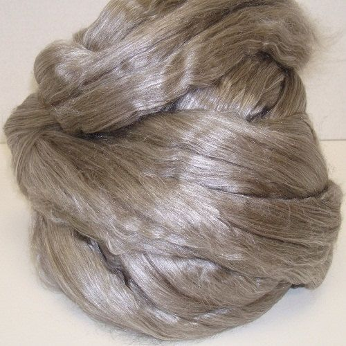 Tibetan Yak-Silk Blend - gekämmt Top für Spinnen und filzen