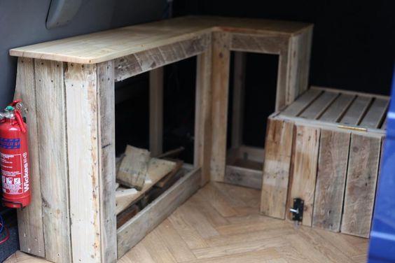 wooden interior build vw t4 forum vw t5 forum vw bus umbau pinterest m bel. Black Bedroom Furniture Sets. Home Design Ideas