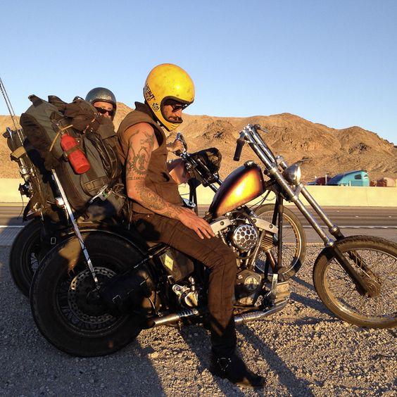 From Dusk Till Dawn  #trip #chopper #traveller #wanderer