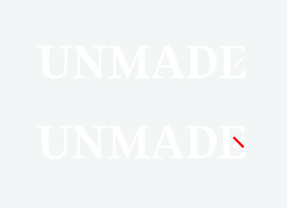 Unmade | Fashion Branding Identity Hang Tags, Packaging and Label Design | Award-winning Branding | D&AD