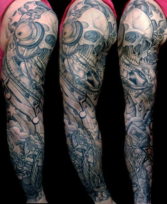 Dj Tattoo Sleeve