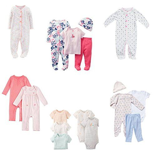 Carter s Baby Girls Clearance 6 months clothing Set of 6