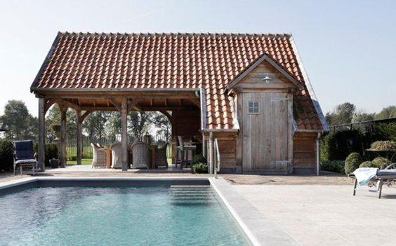 Poolhouse Timeless Wood