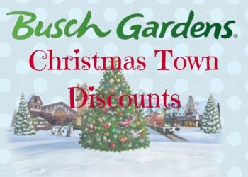 Busch gardens christmas town discounts updated for 2015 busch gardens williamsburg Busch gardens pass member benefits