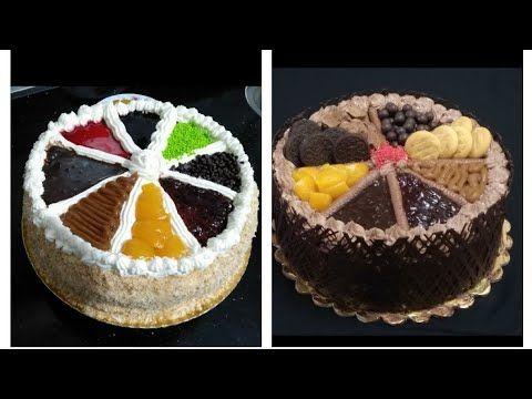 تزيين تورتة للمبتدئين بطريقة سهلة تورتة تنفع لاعياد الميلاد وحفلات الاطفال Youtube Desserts Mini Cheesecake Cheesecake