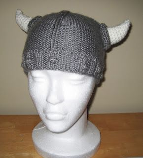 Horns, Free pattern and Hats on Pinterest