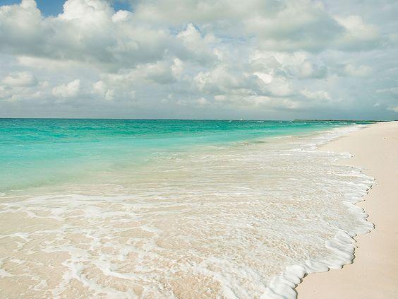 Caribbean beach getaway.