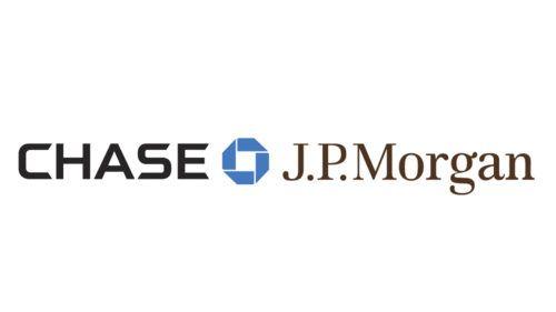 Logo Jpmorgan Chase Is Monochrome The Blue Color Emphasizes Logos Banks Logo Jpmorgan Chase