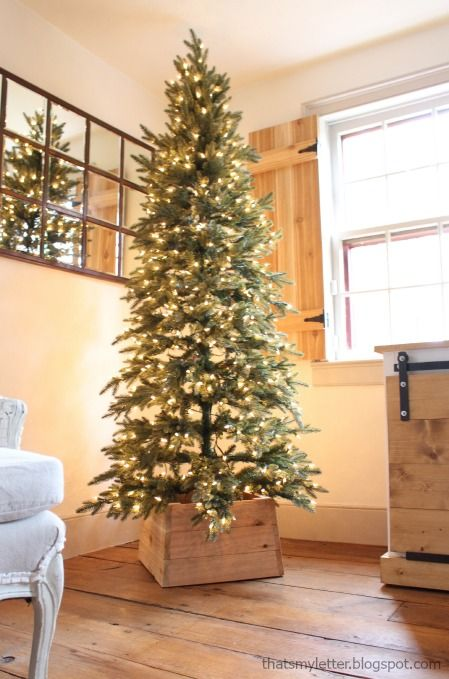 The 25+ best Rustic christmas tree stands ideas on Pinterest ...