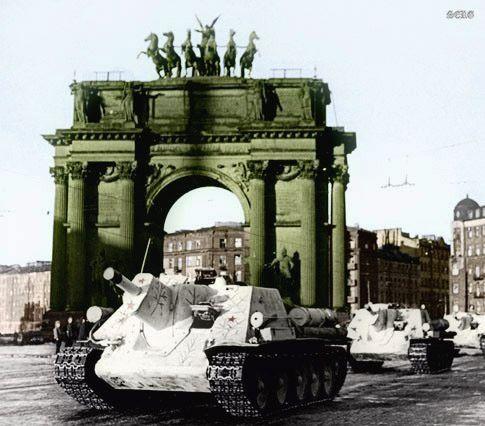 SU-122 Leningrad 1943