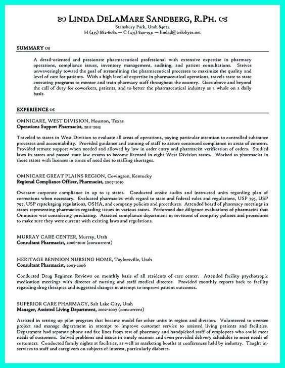 cool High Quality Data Analyst Resume Sample from Professionals - omnicare pharmacist sample resume