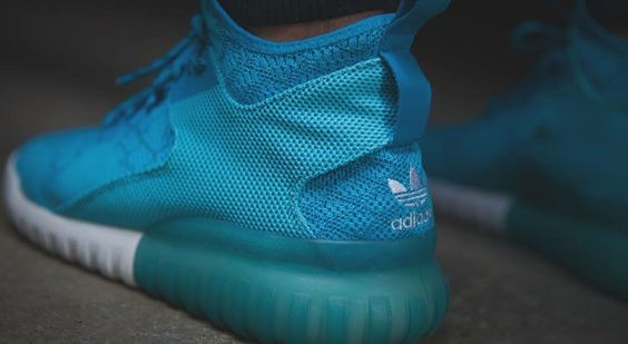 adidas Originals Tubular X Primeknit: Cyan