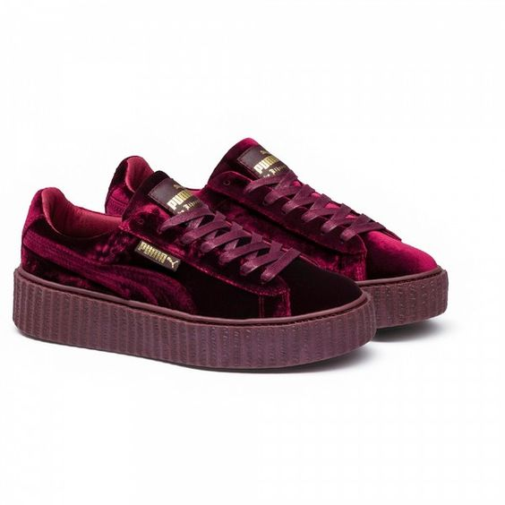 Puma Velvet Shoes Fenty
