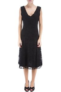 HUNZA - Black Lace Dress
