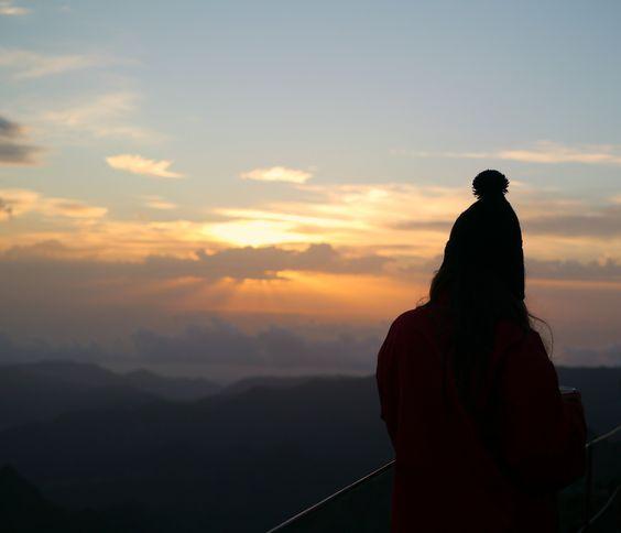 """""""O caminho faz-se caminhando"""" Nascer do Sol, Pico Ruivo -Ensaio Fotográfico. -"""