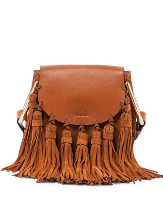 Hudson+Mini+Fringe+Shoulder+Bag+by+Chloe+at+Bergdorf+Goodman.: