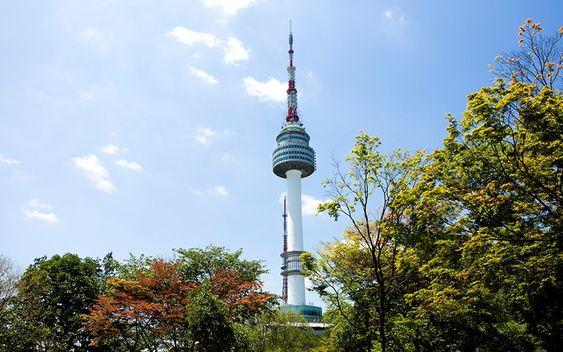 N Seoul Tower by Leslie Patrick