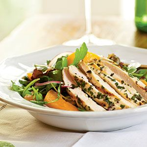 Arugula Salad with Chicken and Apricots (CL)