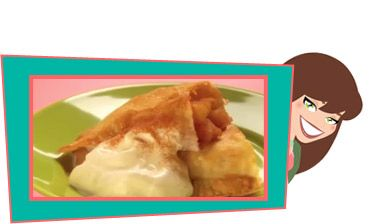 Awesome Apple Pie-lets Recipe | Think Fast... Food! | Hungry Girl TV Show