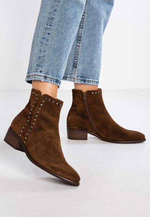 WIDE FIT Cowboybiker ankle boot whisky @ Zalando.co.uk