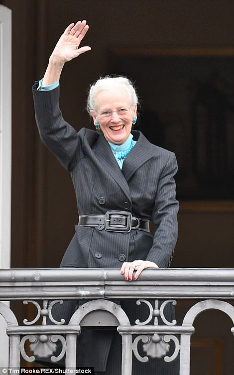 Queen Margrethe of Denmark turned 78 on Monday...