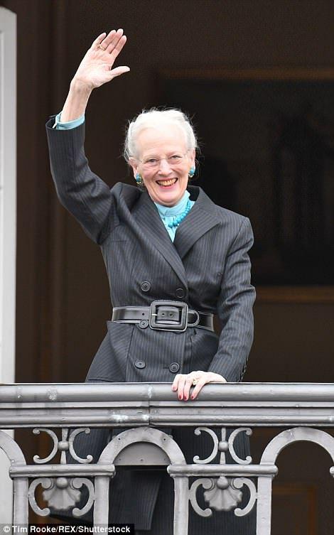 Queen Margrethe of Denmark turned 78 on Monday...
