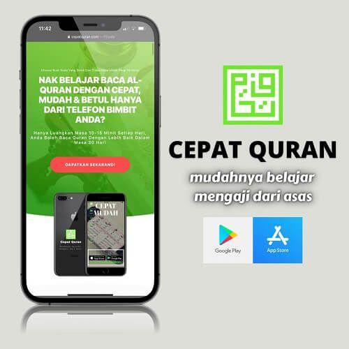 Bagi Yang Ingin Belajar Al Quran Dari Asas Sehingga Mahir Tajwid Sila Klik Daftar Ahli Dalam Aplikasi Cepat Quran Muat Turun Aplikasi C In 2021 Quran Quran App App