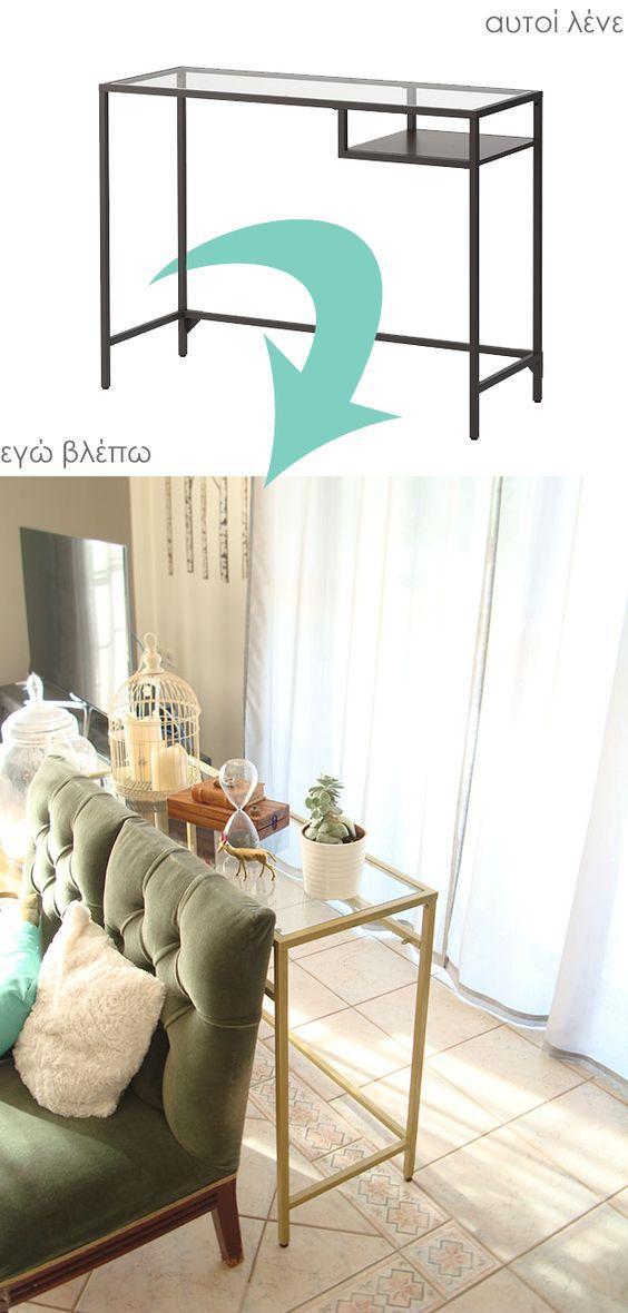 EK★ Ikea Hacks - VITTSJO                                                                                                                                                     More