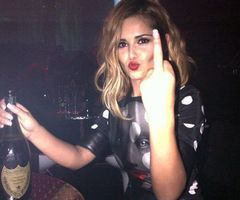 cheryl cole swears alcohol after naughty night with will