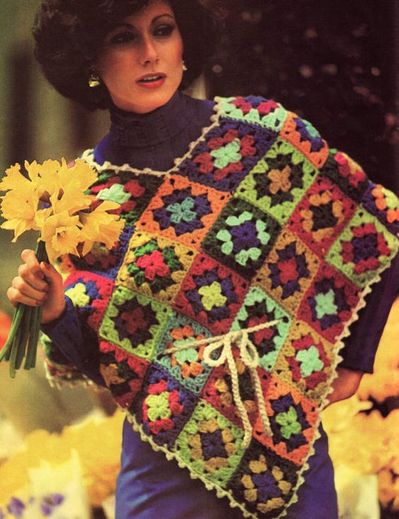 would i be a poncho person for something so bright and fun?